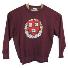 Harvard University Veritas Alta Gracia Unisex Sweatshirt Maroon Crew 2XL New