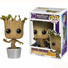 Guardians Of The Galaxy Dancing Baby Groot Bobble Head Figure PVC Toys Gifts