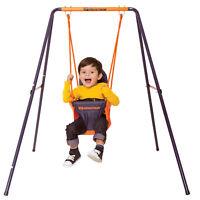 Hedstrom Folding Toddler Swing Easy Clean Outdoor Garden Boys Girls Fun Play