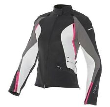 Dainese Women's Arya Jacket Black/Grey/Fuchsia 40 Euro NEW