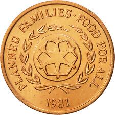 [#463659] Tonga, King Taufa'ahau Tupou IV, 2 Seniti, 1981, FDC, Bronze, KM:67