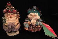 Crinkle Santa & 1 Crinkle Cracker