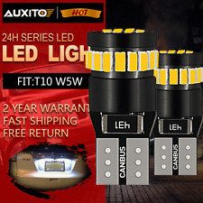 T10 501 W5W CAR SIDE LIGHT BULBS ERROR FREE CANBUS 3014 SMD LED XENON HID WHITE