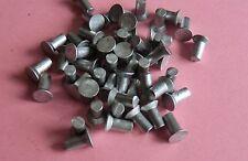 Senknieten 50 Stück Alunieten Vollnieten Nieten DIN 661  3x8