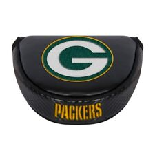 GREEN BAY PACKERS EMBROIDERED LOGO BLACK PUTTER MALLET COVER NEW