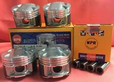NPR 82mm High Compression Pistons + Rings Acura Integra GSR Civic Type R B16 B18