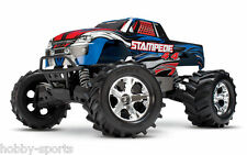 Traxxas Stampede 4X4 Brushed 2.4Ghz Truck + Free Extra 8.4V Battery TRA670541