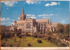 Irish Postcard St Patrick'S Cathedral Dublin Ireland P O'Toole John Hinde 2/324