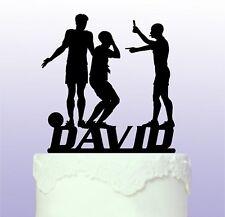 Personalizado Fútbol árbitro Cake Topper-futbolística-fútbol