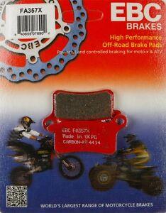Front Organic Brake Pads 2002-2003 KTM 65 SX Set Full Kit  Complete ka