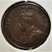 1925 Canada One Cent Coin, Nicer Detail