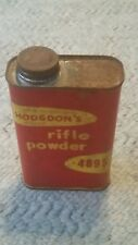 Rare Vintage Hodgdon 4895 Rifle Powder Tin Can Empty