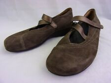 WOLKY Womens US 8 Passion brown Suede Mary Jane Shoes Size 39 Z-Strap