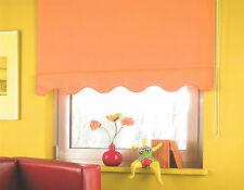 Kettenzugrollo Seitenzugrollo mit Volant Fenster Stoff Rollo Jalousie Plissee