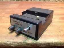 """lecteur de cassette audio """"COMPACT CASSETTE ,TAPE MATIC""""/vintage tape reader"""