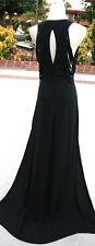 NWT MAX AZRIA $648 BLACK Pageant Formal Ball Gown M