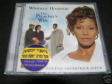 WHITNEY HOUSTON The Preacher's Wife CD SEALED PROMO
