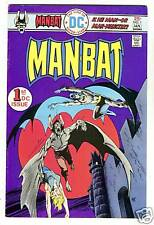 DC Comics MAN-BAT #1 with Man-Bat vs. BATMAN from Jan. 1976 in Fine condition
