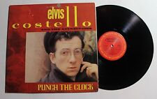 ELVIS COSTELLO Punch The Clock LP Columbia Rec FC-38897 US 1983 VG++ 0E