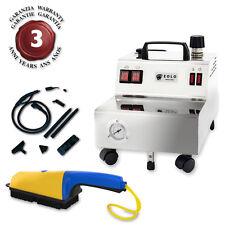 EOLO Generatore di Vapore Pulizia e Sanificazione con Spazzola GV05 P