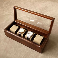 Wooden Watch Display Box Made in Japan / TOYOOKA CRAFT / MC002004
