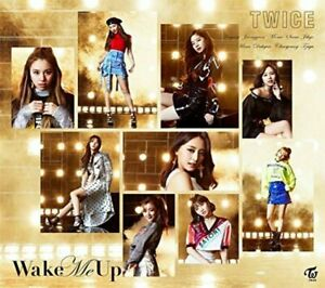 TWICE Wake Me Up (Version B)CD+DVD Limited Edition from Japan