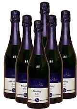 6 Fl. Riesling Sekt trocken  - Direkt vom Weingut Wachter -