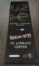 RARE U2 iNNOCENCE + eXPERIENCE tour street banner from Phoenix concert May 22-23