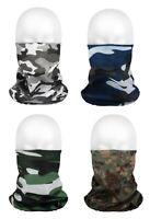 Multifunktionstuch Schlauchschal Camouflage Mundschutz Totenkopf Bandana