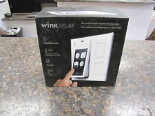 """New in box Wink Relay Smart Home Controller 4.3"""" Touchscreen White Prlay-Wh01"""