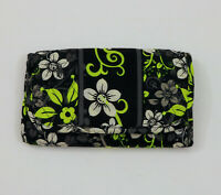EUC Quilted Tri-Fold Wallet Clutch