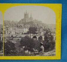 1860s Suisse Stereoview 20 Lausanne Capitale Du Canton Alpine Club W England