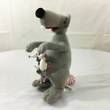 "A97 Ikea Fa Marsupial Mom & Babies Rodent Plush 13"" Stuffed Toy Lovey"