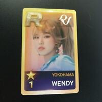 Red Velvet WENDY ARENA TOUR REDMARE Photocard photo card YOKOHAMA Official Japan