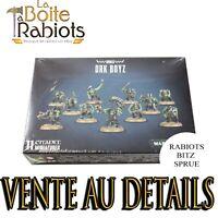 Warhammer 40000 Boyz Ork Vente au détail Rabiots Bitz Sprue