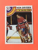 Ken Dryden 1978-79 Topps Hockey Card #50