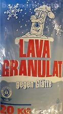 Lava Granulat 20kg gegen Glätte Glatteis Streumittel Streusalz-Alternative