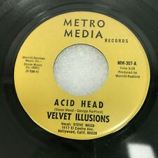 GARAGE PSYCH 45 - VELVET ILLUSIONS - ACID HEAD / SHE WAS THE ONLY GIRL MM307