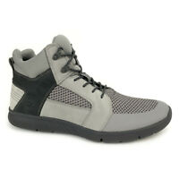 Timberland Men's Boltero Mixed Media Mid Grey Chukka Boots A1OX6