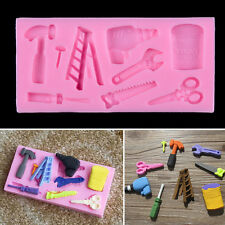Tools Set Silicone Cake Fondant Mold Topper Hammer Baking Mould Sugarcraft