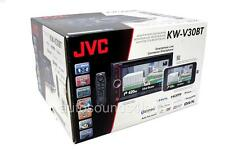 "JVC KW-V30BT Double DIN DVD/CD Player 6.1"" LCD Android iPhone Bluetooth SiriusXM"