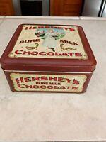 Vintage Hershey Pure Milk Chocolate Tin  Vintage Edition #2 1992