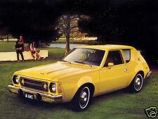 1976 AMC GREMLIN, Yellow, Refrigerator Magnet, 40 MIL
