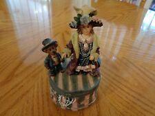 """Boyds Musical Box Bear/Little Girl Dressed up  """" Thanks Heaven for little Girl"""""""