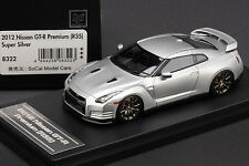 1 of 80 - Left Hand Drive - Nissan R35 GT-R  **Super Silver** - HPI 1/43 #8322