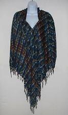 Poncho|Hoodie|Bohemian|Boho|Handmade|Yak Wool Blend|Tribal|Tassel|Fringe|1 Size