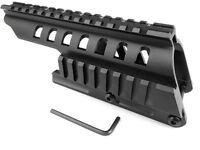 Remington 870 Shotgun 12ga Double Picatinny-Style Rail Scope-Sight Saddle Mount