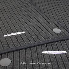 Fußmatten Ripsmatten Satz E-Klasse S211 W211 schwarz Original Mercedes-Benz NEU