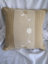 Beautiful Nettex HAMILTON Latte 100% Cotton Cushion Cover CLEARANCE SALE