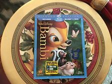 Walt Disney BAMBI BLU-RAY/DVD SET with SLIPCOVER